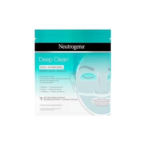 Neutrogena Gesichtspflege Masken Deep Clean Hydrogel Maske 30 ml
