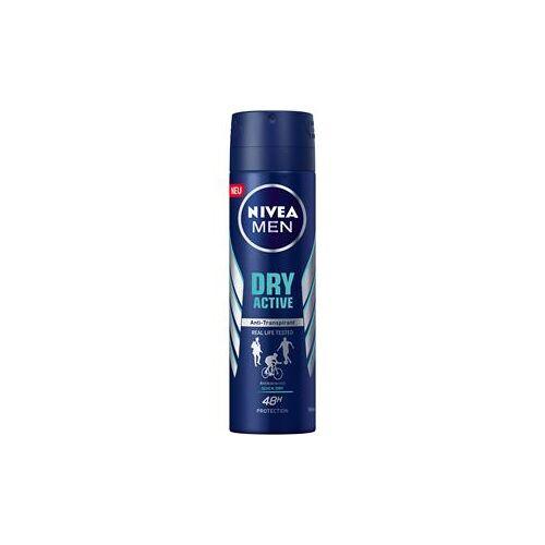 Nivea Männerpflege Deodorant Nivea Men Dry Active Deodorant Spray 150 ml