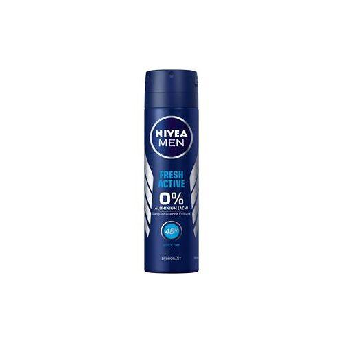 Nivea Männerpflege Deodorant Nivea Men Fresh Active Deodorant Spray 150 ml