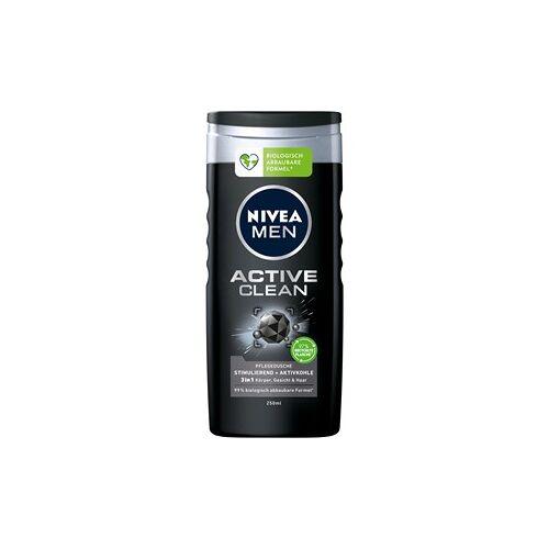 Nivea Männerpflege Körperpflege Nivea Men Deep Active Clean Pflegedusche 250 ml
