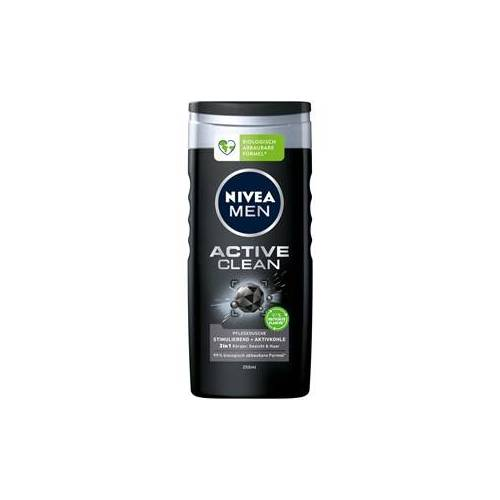 Nivea Männerpflege Körperpflege Nivea Men Active Clean Pflegedusche 250 ml