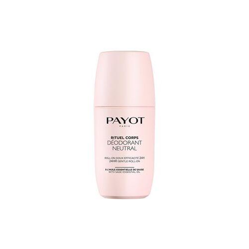 Payot Pflege Rituel Corps Deodorant Neutral 75 ml