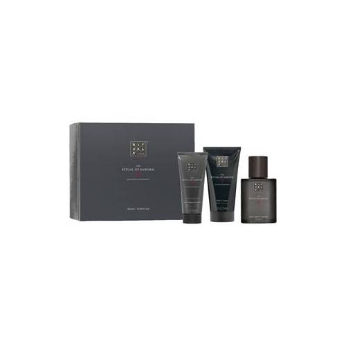 Rituals Rituale The Ritual Of Samurai Travel Shave Set After Shave Soothing Balm 30 ml + Shaving Cream 70 ml + Charcoal Face Scrub 30 ml 1 Stk.