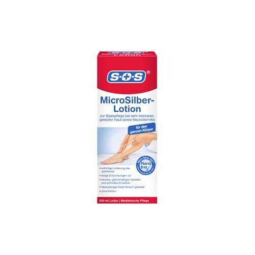 SOS Gesundheit Hand- & Fußpflege Microsilber Lotion 200 ml