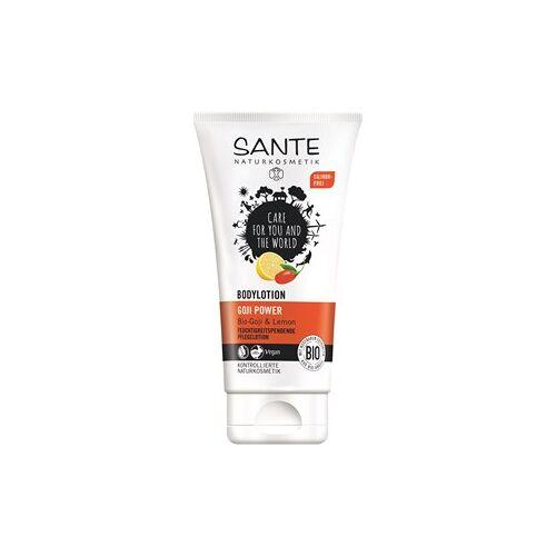 Sante Naturkosmetik Körperpflege Lotionen Bodylotion Bio-Goji & Lemon 150 ml