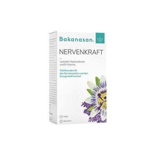 Bakanasan Gesundheitsprodukte Beruhigung und Nervenkraft Nervenkraft plus Lavendel und Passionsblume 60 Stk.