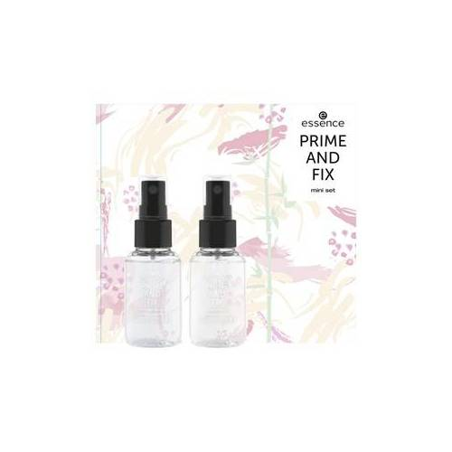 Essence Teint Primer Prime and Fix Mini Set Mattifying Bamboo Primer 30 ml + Bamboo Fixing Spray 30 ml 1 Stk.