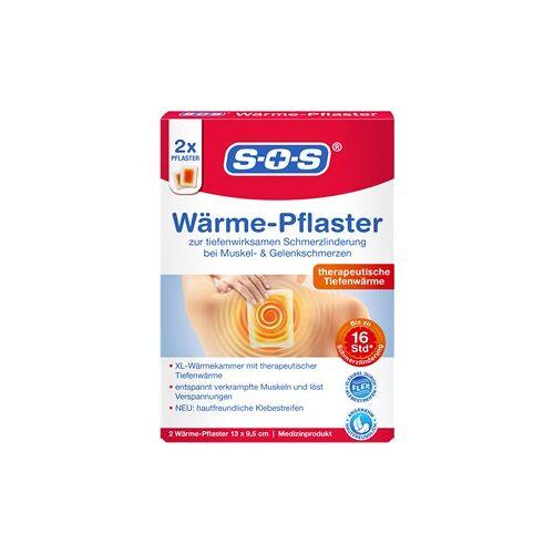 SOS Gesundheit Schmerz- & Wärmetherapie Wärme-Pflaster 2 Stk.