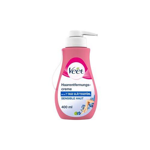 Veet Haarentfernung Cremes Haarentfernungscreme Sensible Haut 400 ml