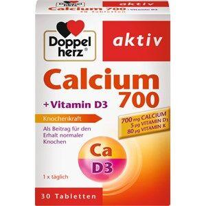 Doppelherz Gesundheit Mineralstoffe & Vitamine Calcium 700 + Vitamin D3 Tabletten 30 Stk.