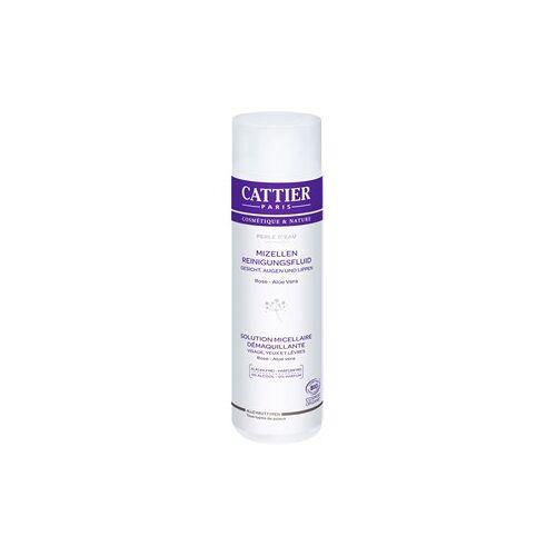 Cattier Reinigung Gesichtsreinigung Rose & Aloe Vera Mizellen Reinigungsfluid Perle d´Eau 50 ml