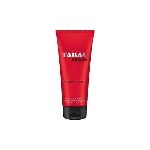 Tabac Herrendüfte Tabac Man Fire Power Shower Gel & Shampoo 200 ml