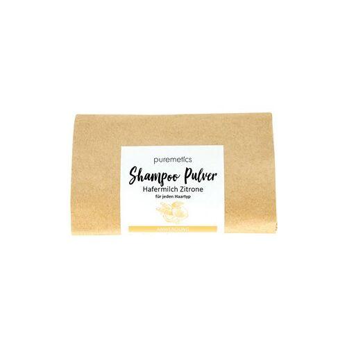 puremetics Pflege Shampoo Shampoo-Pulver Hafermilch Zitrone 50 g