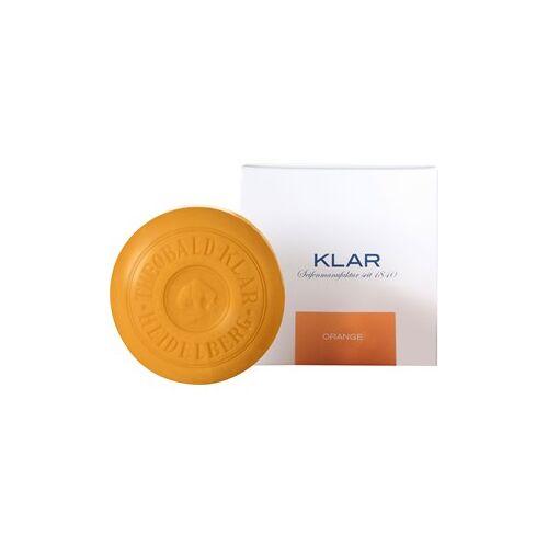 Klar Seifen Pflege Seifen Seife Orange 150 g