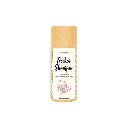 puremetics Pflege Shampoo Für helles Haar Trockenshampoo Ingwer Kandis 100 g
