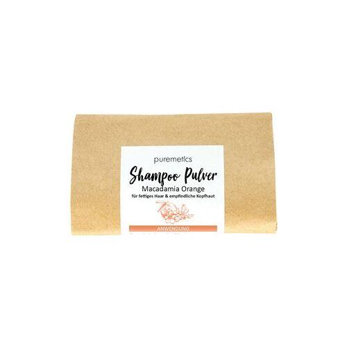 puremetics Pflege Shampoo Shampoo-Pulver Macadamia Orange 50 g