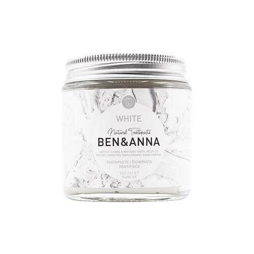 BEN&ANNA Zahnpflege Zahnpasta im Glas Zahnpasta White 100 ml
