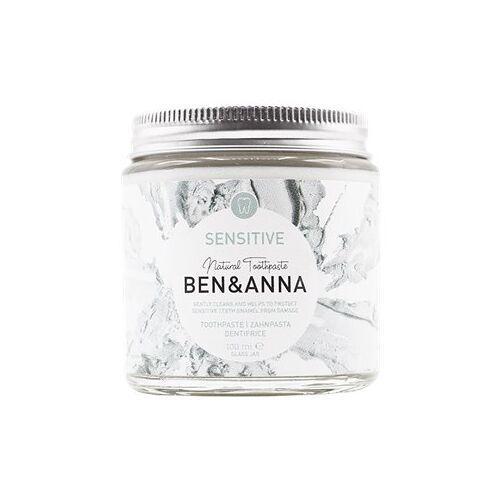 BEN&ANNA Zahnpflege Zahnpasta im Glas Zahnpasta Sensitive 100 ml