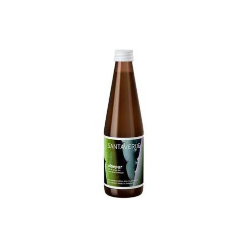 Santaverde Collection Aloe Vera Pure Aloepur 100% Aloe Saft 3 x 330 ml