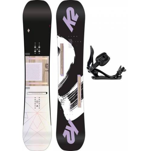 K2 Set Snowboard Lime Lite + Snowboard-Bindung