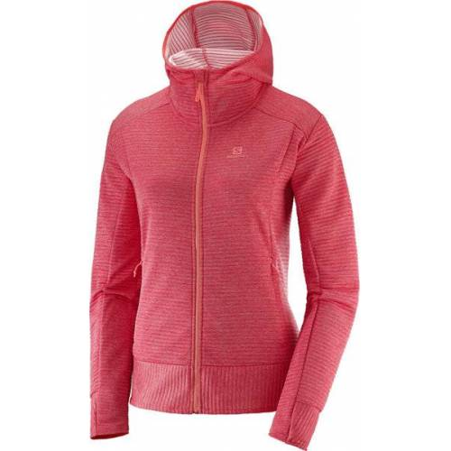 Salomon Right Nice Mid - Fleecejacke mit Kapuze - Damen