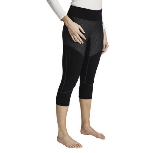 Vaude W Back Bowl Fleece - Unterhose 3/4 lang - Damen