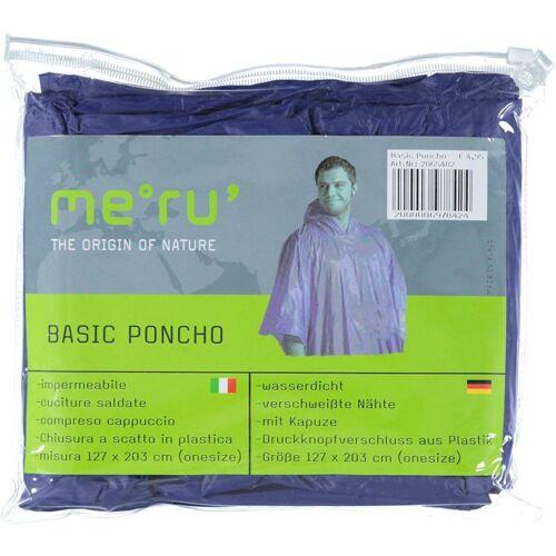 Meru Poncho Basic - Regenponcho