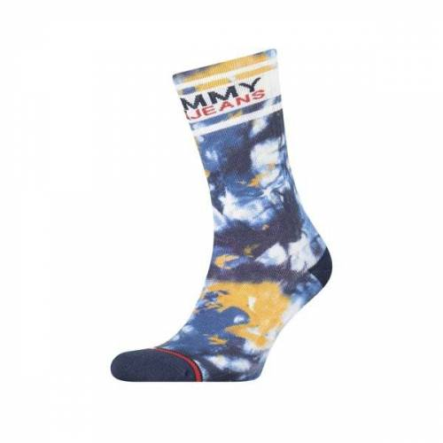 Tommy Jeans TH Uni TJ Sock 1P Tie Dye - Socken