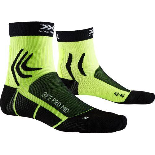 X-Socks Bike Pro Mid - kurze Fahrradsocken