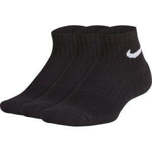 Nike Performance Cushioned Quarter Training (3 Pair) - kurze Fitness-Socken - Kinder
