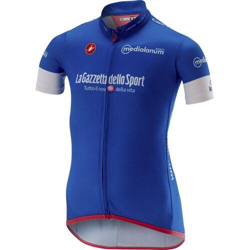 Castelli Blaues (Azzurro) Trikot für Kinder Giro d'Italia 2018