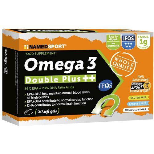 NamedSport Omega 3 Double Plus 30 - Sportnahrung Regeneration