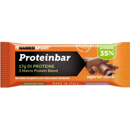 NamedSport Proteinbar Superior Choco 50g Protein - Sportnahrung