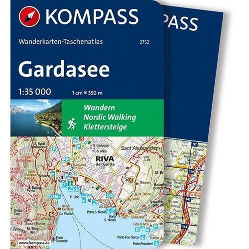 Kompass Gardasee - Taschenatlas