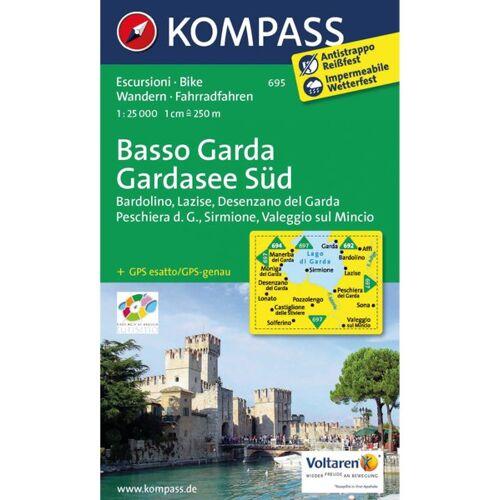 Kompass Karte N.695: Gardasee Süd 1:25.000