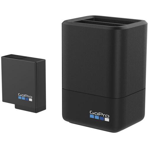 GoPro Dual Battery - Ladegerät und Ersatzakku für GoPro Hero 5 Black