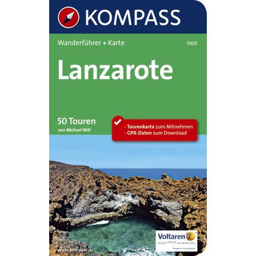 Kompass Karte Nr. 5905 Lanzarote - 50 Touren