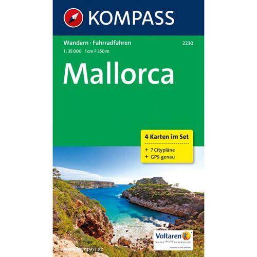 Kompass Karte Nr. 2230 Mallorca 1:35.000