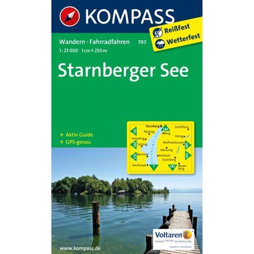 Kompass Karte Nr. 793 Starnberger See 1:25.000