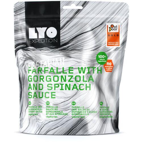 Lyo Food Farfalle mit Gorgonzola und Spinatsauce - Outdoor Nahrungsmittel