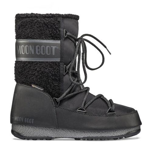 Moon Boots Monaco Wool Mid WP - Moon Boots - Damen