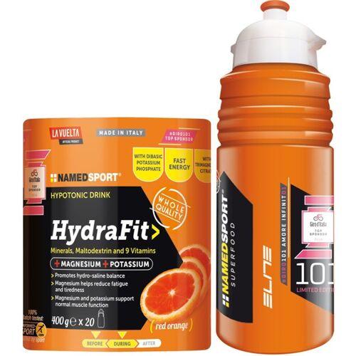 NamedSport HydraFit - hypotonisches Getränk 400 g Pulver