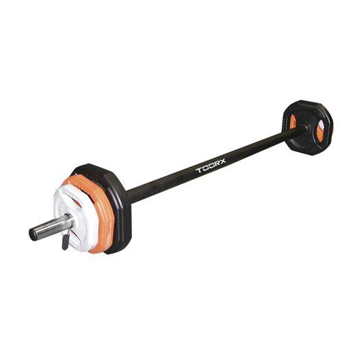 Toorx Body Pump 20 kg - Hantelstange + 6 Hantelscheiben