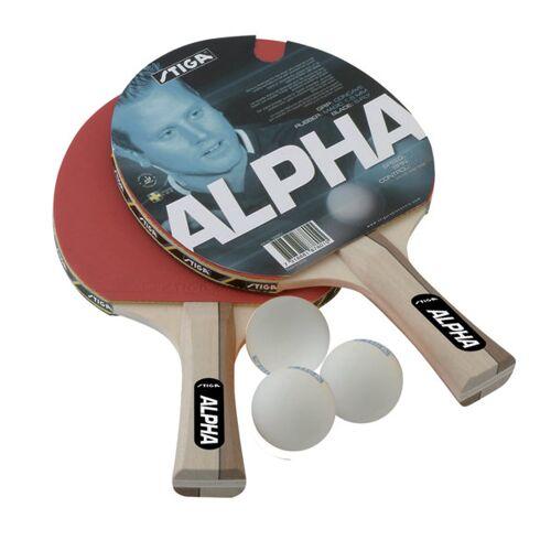 Stiga Set Alpha - Tischtennisschläger
