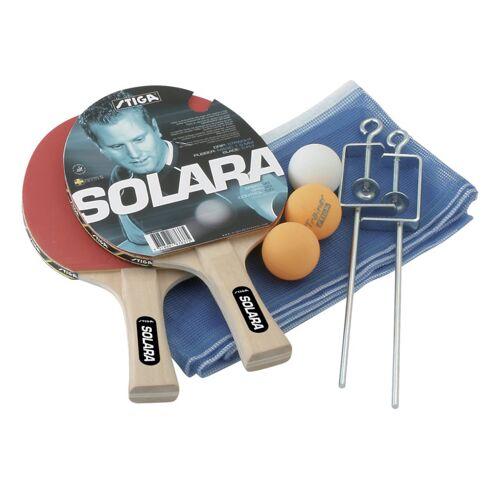 Stiga Set Solara - Tischtennisschläger + Netz