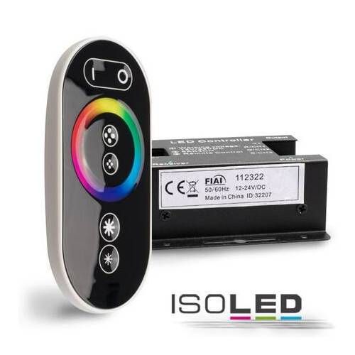 Fiai IsoLED Wireless Touch RGB Controller 3 Kanal mit Fernbedienung 12-24V max 18A