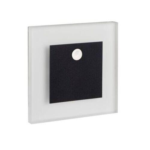 Kanlux LED Treppenleuchte APUS WW 0,8W mit Bewegungsmelder 12V DC schwarz EEK:A