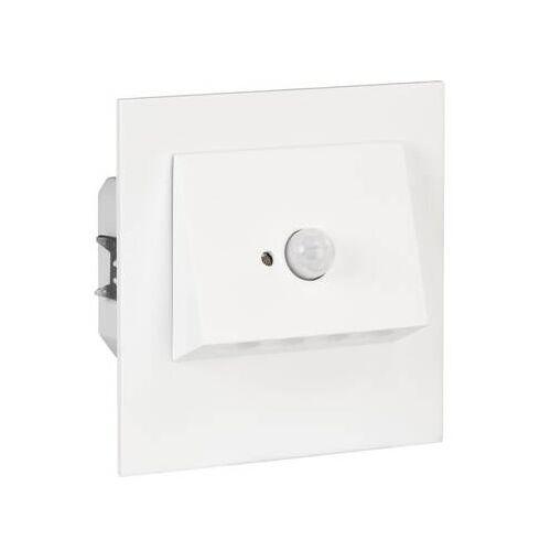 Zamel ledix LED Treppenlicht 60mm UP Dose NAVI CW 1,2W 230V weiß mit Sensor