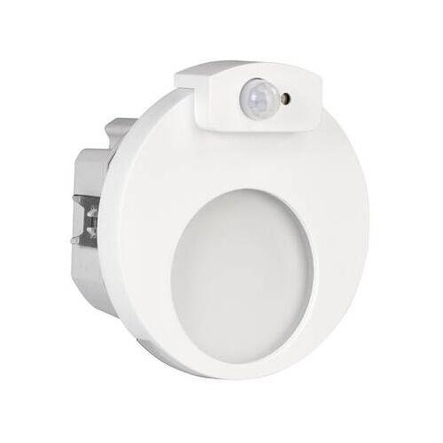 Zamel ledix LED Treppenlicht MUNA WW 1,2W 230V AC weiß mit Bewegungsmelder
