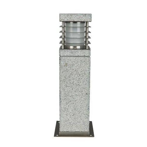 HEITRONIC Granit Sockelleuchte 40cm Heitronic LA MER für E27 Leuchtmittel IP44